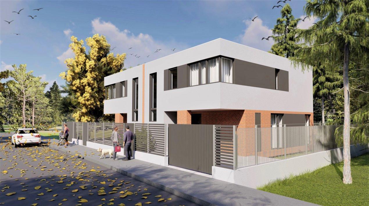Duplex cu arhitectura frumoasa in zona Campului | Finalizare vara 2021